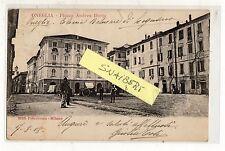 C002379      ONEGLIA  PIAZZA   ANDREA   DORIA    ANIMATA  CARRETTO     VG   1908