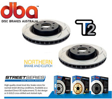 DBA T2 FRONT SLOTTED ROTORS suit SUBARU 2.0L & 2.5L WRX 294mm
