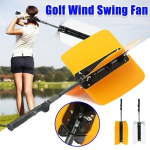 Golf Swing Training Aid Power Fan Trainer Indoor Garden Practice Grip Resistance