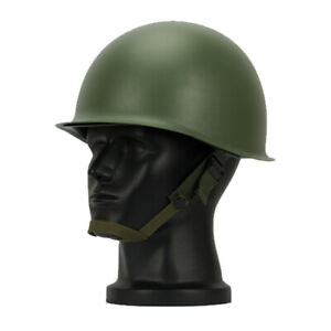 WWII US Military Steel ABS M1 Helmet Cosplay Army Tactical Collectable Replica