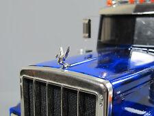 Custom Front Hood Grill Ornament emblem Swan Tamiya 1/14 Semi King Hauler Truck