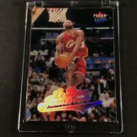 LEBRON JAMES 2004 FLEER ULTRA #114 SECOND YEAR HOLOFOIL CARD CAVALIERS NBA