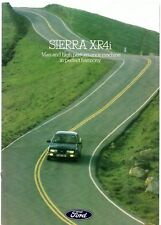 Ford Sierra XR4i 1983 UK Market Sales Brochure