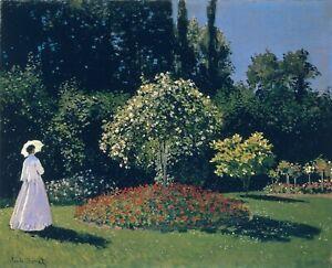 Diamond Painting Kit Jeanne Marguerite Lecadre In The Garden Claude Monet