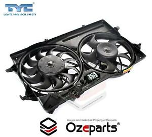Radiator Thermo Cooling Fan Assembly Dual (2 Plug) For Ford Focus LR 2002~2005