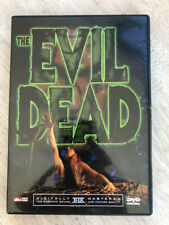 The Evil Dead Dvd - Digitally Remastered - Very good Condition