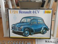 Modelkit Heller Renault 4 TC on 1:24 in Box