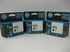 HP 901 Ink CC653AN New Genuine * LOT OF 3 ** SHIPS OVERBOXED * Date: April 2020