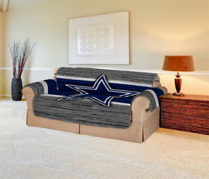 Dallas Cowboys 1/2/3 Seat Chair Sofa Couch Cover Waterproof Slipcover Protector