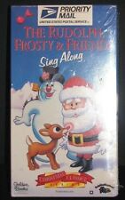 New THE RUDOLPH, FROSTY & FRIENDS SING ALONG Fred Astair Burl Ives Durante VHS
