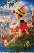 Pinocchio Wish Upon a Star Fleece Panel Official Disney Dream Collection