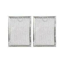 GE WB6X10309 COMPATIBLE ALUMINUM MESH GREASE MICROWAVE FILTER REPLACEMENT (2 PK)