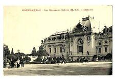 CPA 06 Alpes-Maritimes Monaco Monté-Carlo Les Nouveaux Salons animé