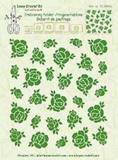 Leane Creatief  Embossing Folder BACKGROUND ROSES - 14.4cm x 16cm 35.0966