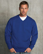 Fleece V Neck Regular Size Hoodies & Sweats for Men