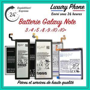 Batterie Interne Samsung GALAXY Note 3 4 5 8 9 10 10+ Neuve + Kit Outils ⚡️