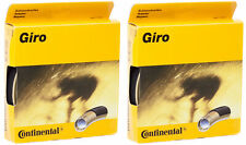 NEW - 2 Pack - Continental Giro Tubular Tire 28'' x 22 mm