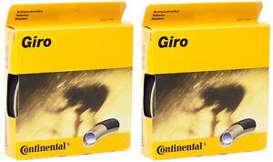 NEW - 2 Pack - Continental Giro Tubular Tire 28'' x 22 mm