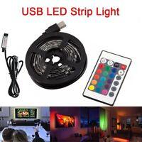 0.5/1/2/3M  5050 SMD LED Strip Light USB TV PC Back Mood Lighting Remote Control