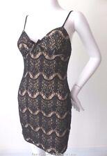 FEVER  Sleeveless Mini Lace Sheath Dress Size 10  US 6
