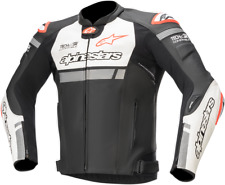 Missle Ignition Airflow Leather Jackets Alpinestars 56 Black Red White