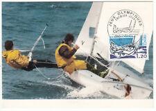 CARTE MAXIMUM FDC 1976 TIMBRE N° 1889 JEUX OLYMPIQUE DE MONTREAL