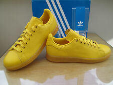 ADIDAS ORIGINALS STAN SMITH ADICOLOR YELLOW TRAINERS SNEAKERS SIZE 7.5 EUR 41.3