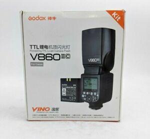 Godox TTL Pioneering Li-Ion Camera Flash V860 II C Kit  For Canon - SH1370