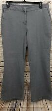 Diane Gilman DG2 gray jeans womens 14 petite boot cut new J6