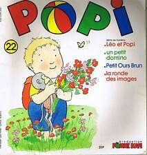 POPI * Léo et grand père * Petit ours brun ne veut pas de chapeau * n° 22