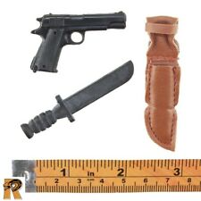 WWII Radioman - 1911 Pistol & Knife - 1/6 Scale - SOW Action Figures