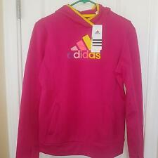 Womens Adidas Climawarm Pullover Hoodie Jacket Blast Pink Nwt Size M