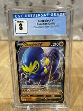 Pokemon Grapploct V 032/073 Champion's Path Ultra Rare Holo MT CGC Graded 8