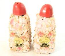 Vintage Sea Shell Salt & Pepper Shakers