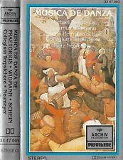 Praetorius Widmann Schein Música De Danza CASSETTE ALBUM Archiv Neumeyer