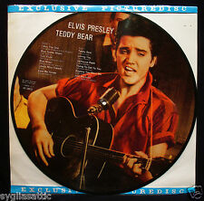 ELVIS PRESLEY-TEDDY BEAR-NEVER PLAYED PICTURE DISC-DANISH IMPORT-ROCKABILLY