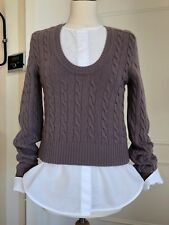 Max Mara Pullover Wolle/Cashmere Gr.M
