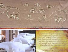 Egyptian Comfort Microfiber Bed Sheet Sets, Khaki, Size: Twin