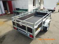 PKW Anhänger Kippanhänger 750 kg 2 Kl 1 Achse 205 x125