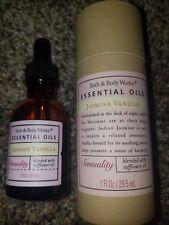 RARE! Bath Body Works Aromatherapy JASMINE VANILLA sensuality essential oil 1oz