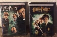 HARRY POTTER DVD Lot: Chamber of Secrets (#2) and Order of the Phoenix (#5) NEW