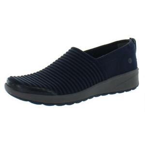 Bzees Womens Glee Navy Colorblock Mesh Sneakers Shoes 7.5 Medium (B,M) BHFO 5741