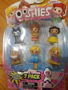 Disney Ooshies Princess Series 1 7-pack snow white rapunzel cinderella maleficen