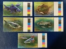 Vietnam Mint Mekong River Fish Set Of 5 Stamps 2019 VN#1112