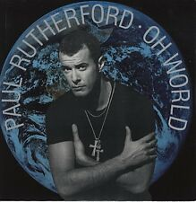 """Paul Rutherford Oh World 2 mixes - UK 12"""""""