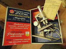 ancien microscope americain annees 1960 gilbert compagnie jeu jouet