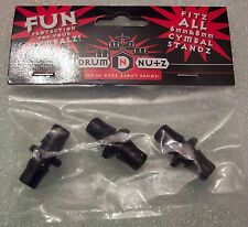 Drum Nutz Nuts Cymbal Nuts topper NEW Exclusive 6mm 8mm FREE U.S. Shipping!