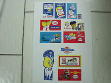 AFFICHETTES   ESSO   SET  2   GARAGE   STATION   DEPREUX   VROOM   REPRO  1/43