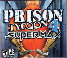 Prison Tycoon 4: SuperMax (PC, 2008, ValuSoft, SEALED NEW)