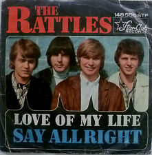 "7"" 1966 STARCLUB ! THE RATTLES : Love Of My Life /VG+?"